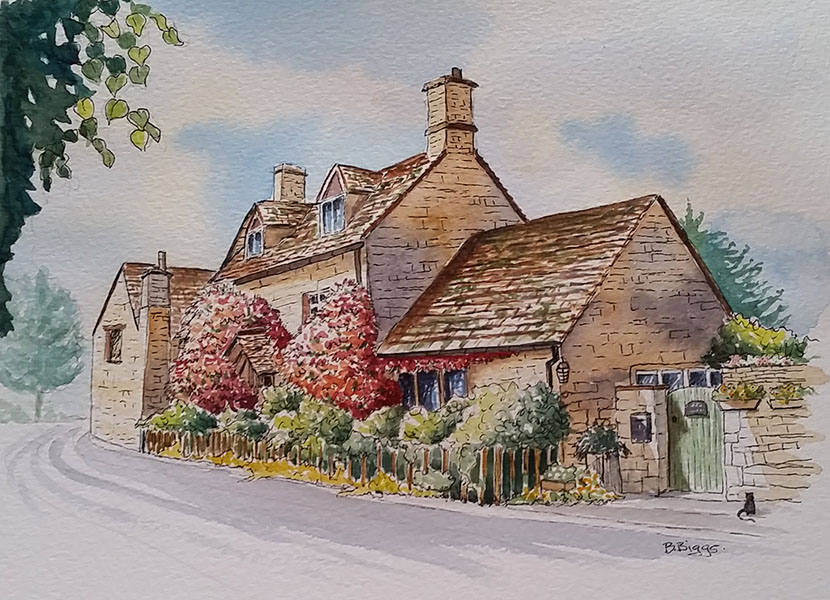 Paint Beautiful Cotswolds Villages