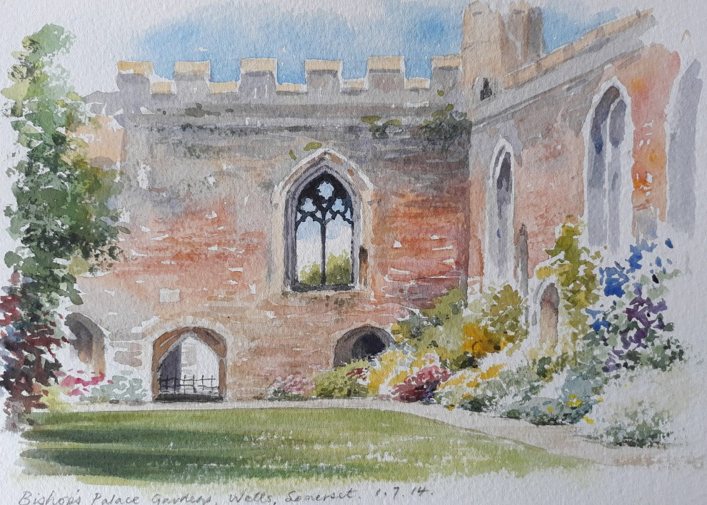 Paint Historic Wells & The Somerset Countryside