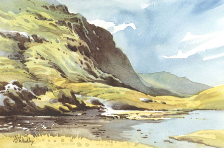 The Travelling Sketchbook in The Lake District